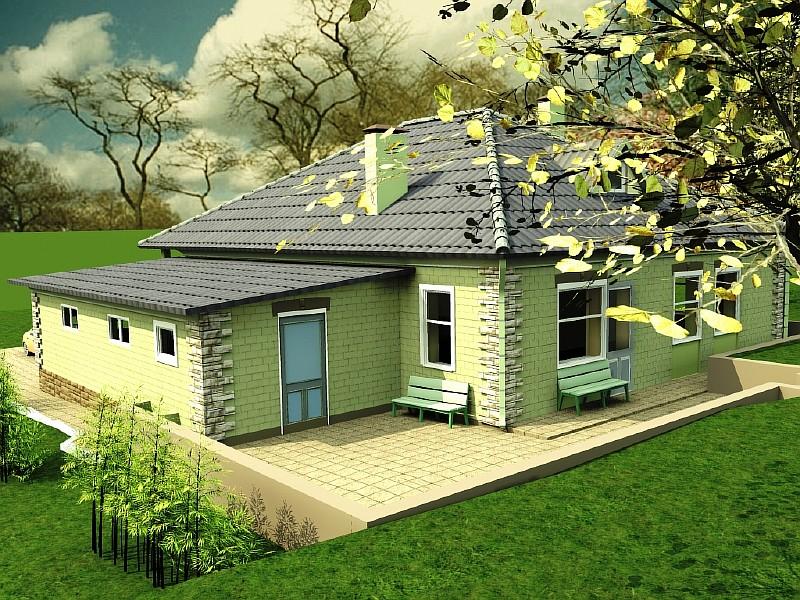 Визуализация дома Мечта