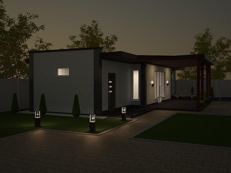 Дом Летний визуализация 4