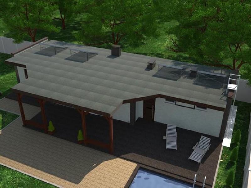 Дом Летний визуализация 5