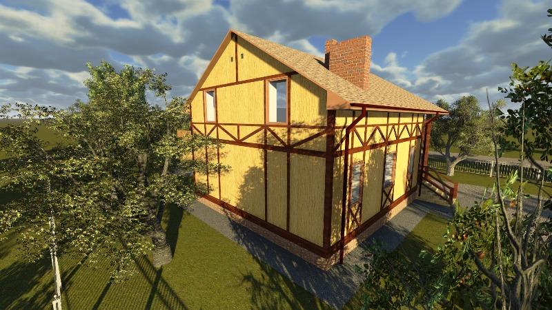 Дом Фахверк 3