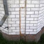 Экспертиза дачного дома с трещинами — фотоотчет