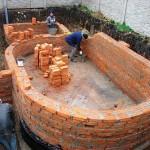 Этапы строительства бассейна — фотоотчет