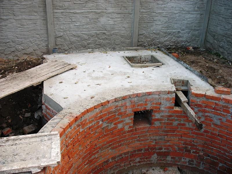 Техническое помещение для оборудования бассейна