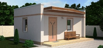 Проект дачного дома «Модерн» — летний минимализм