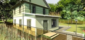 Проект загородного дома «Комфорт» — удобное жилье для всей семьи