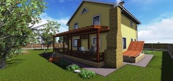 Проект загородного дома «Семейный» — уютное гнездышко