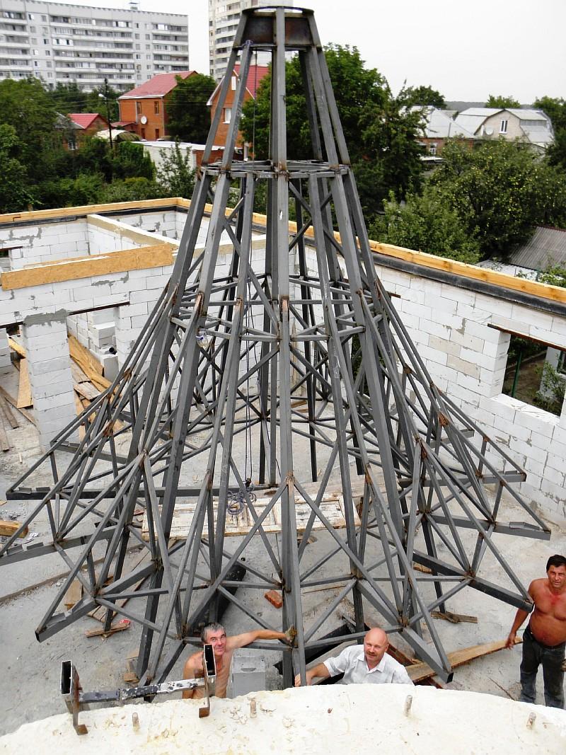 Фото 3 Металлический каркас купола