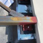Опорная площадка для электрогенератора. Проект и монтаж — фотоотчет