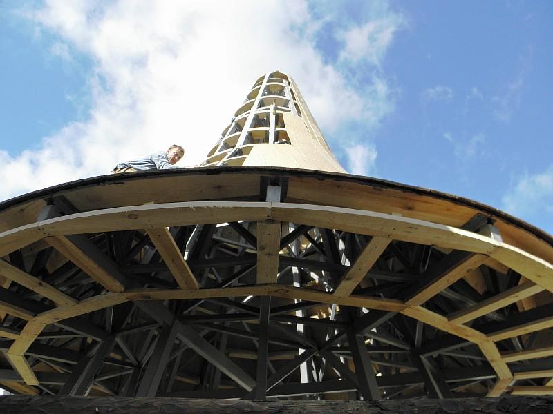 Фото 5 Подшивка кровельных свесов купола