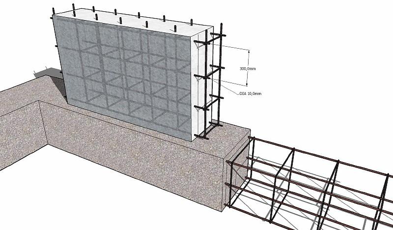 Проект дома по существующему фундаменту