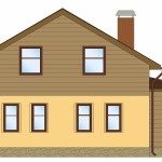 Проект двухэтажного жилого дома «Аля» — мини-гостиница семейного типа