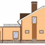 Проект одно-двухэтажного жилого дома «Элин» — утонченная асимметрия