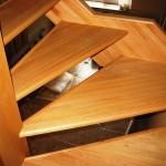 Лестница из бука в Харькове — фотоотчет