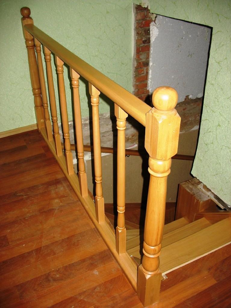 Лестница с перилами своими руками фото 849