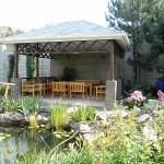 Садовая беседка с элементами ландшафтного дизайна — фотоотчет