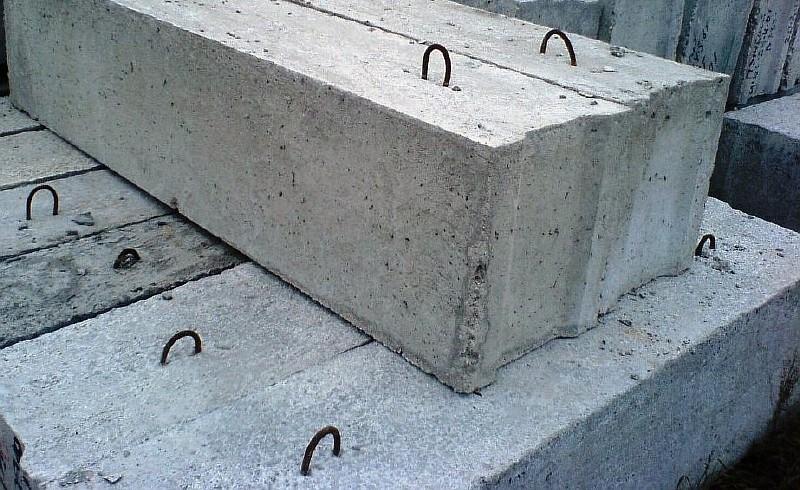 размер бетонного фундаментного блока ФБС