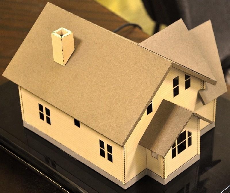 Коробка дома цена