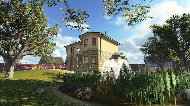 """Двухэтажный загородный дом """"Аллан-2"""""""