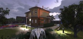 Проект 2-х этажного жилого дома «Аллан-2» — коттедж с характером