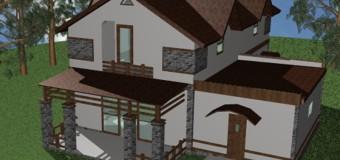 Проект загородного дома «Южный» — продуманная компактность