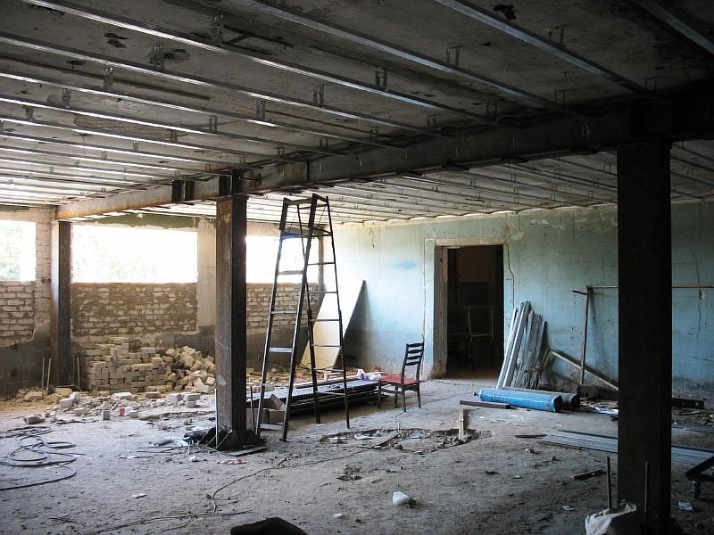 Фото 1 Замена несущей стены бескаркасного здания