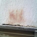 Ржавые пятна на фасаде — причина возникновения и способы избежать их