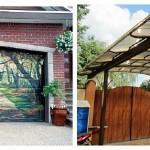 Что лучше построить — гараж или навес?