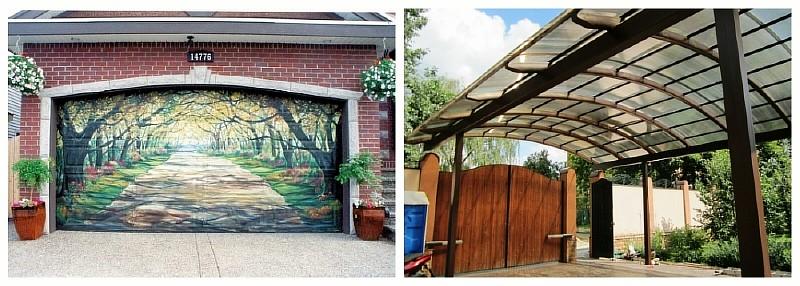 Что лучше: гараж или навес?