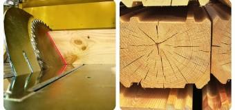 Заготовка и хранение древесины для строительства