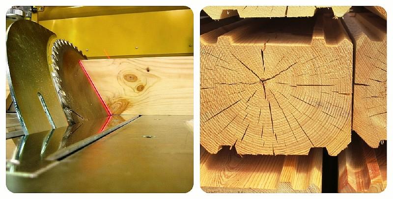 Хранение и обработка древесины для строительства