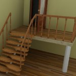 Лестница «гусиный шаг» — достоинства и особенности