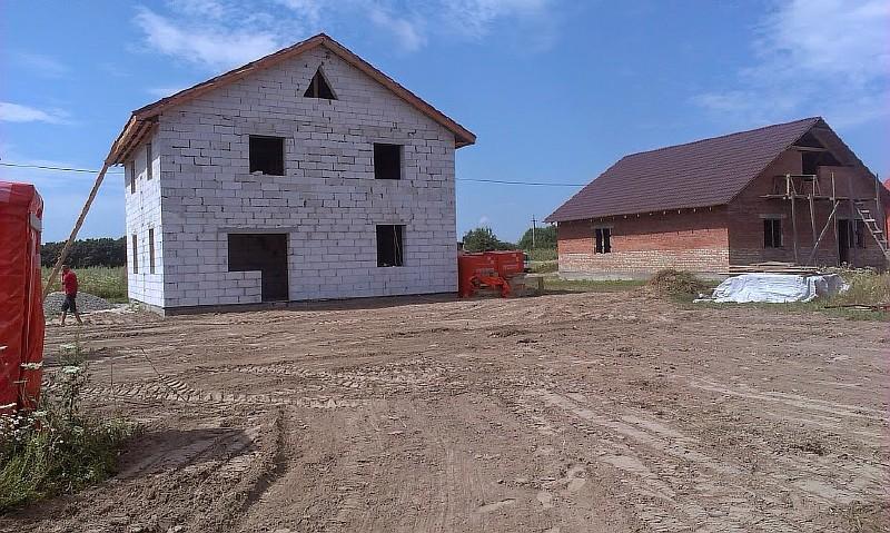 Фото 19. Участок с домом после планировки участка