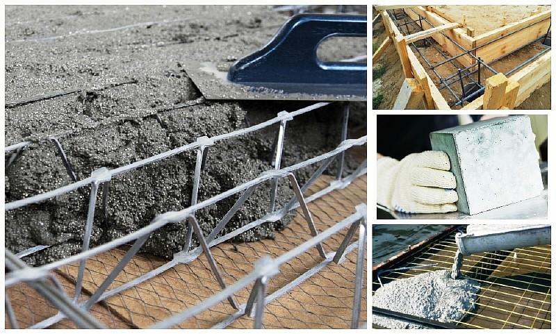 Как и за какое время бетон набирает прочность