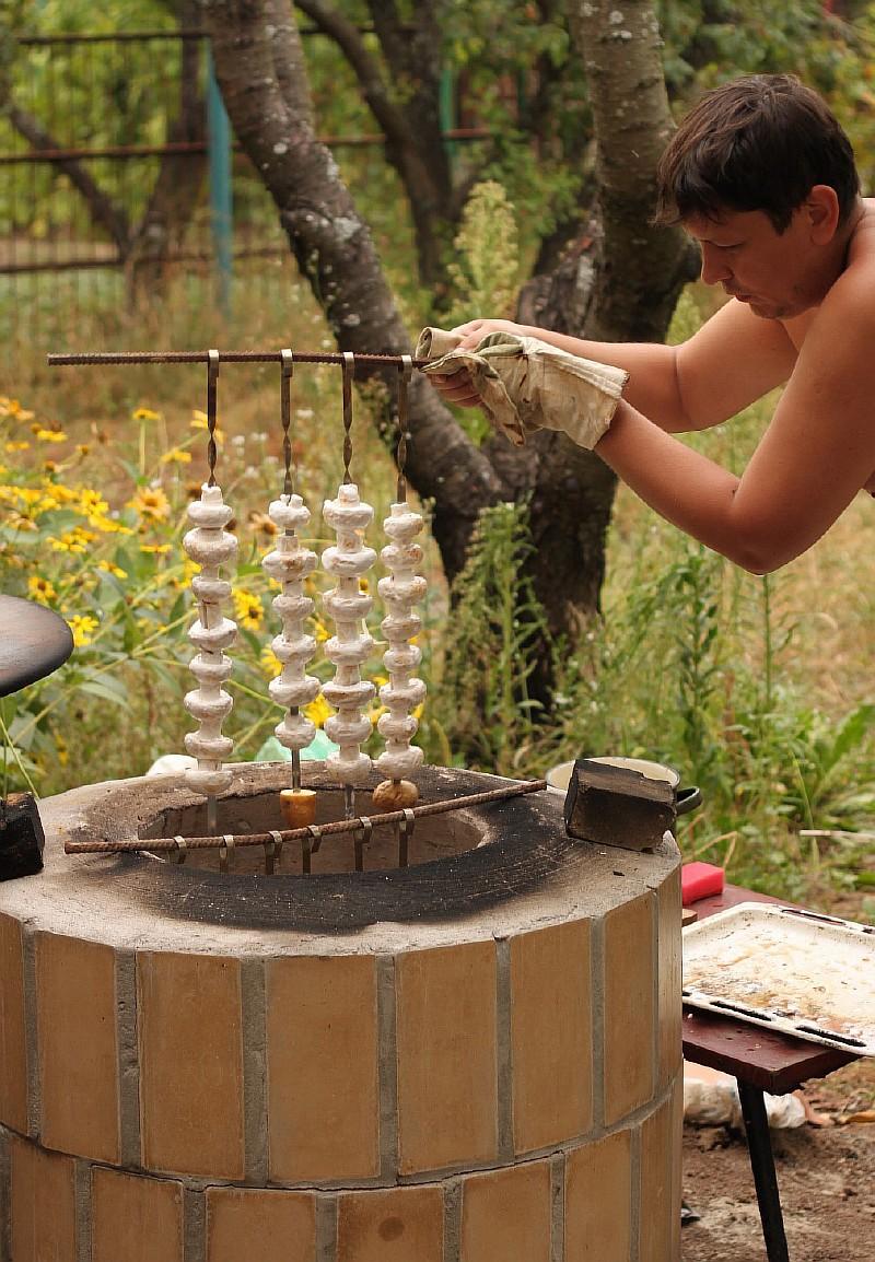 Фото 15 Готовим грибы на тандыре