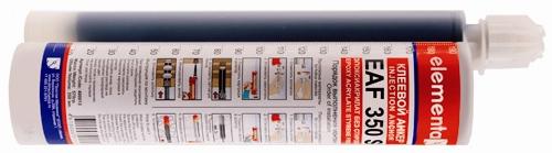 Рис.4. Химический анкер в тубе (двухкомпонентный)