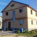 Фотоотчет: реализация проекта двухэтажного загородного дома «Семейный»