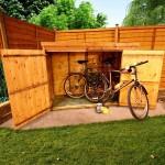 Выбираем парковочное место для велосипеда на вашем загородном участке