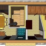 Проект хозяйственной постройки с сауной — «Три в одном»