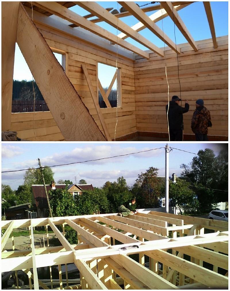 Достоинства и недостатки деревянных междуэтажных перекрытий