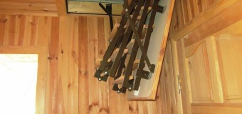 Раскладная лестница на чердак — за и против лестниц-стремянок