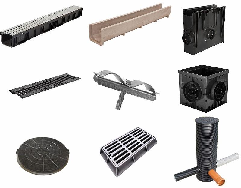 Элементы дренажных систем