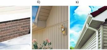 Использование ПВХ сайдинга в частном домостроении