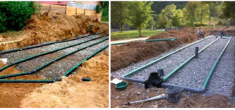Дренажные (фильтрационные) поля канализационной системы — устройство, принцип работы, обслуживание