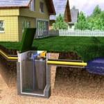 Как выполнить септик при высоком уровне грунтовых вод (УГВ)