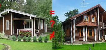 Чем дачный дом отличается от дома для постоянного проживания?