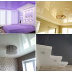 Натяжные потолки: виды, характеристика, монтаж