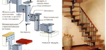 Модульные лестницы — типы сборки, монтаж, достоинства и недостатки