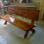 Изготовление деревянной садовой мебели в Харькове