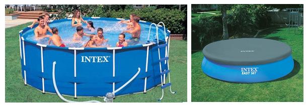 Каркасный сборно-разборный бассейн INTEX