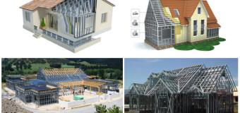 Технология ЛСТК — строительство зданий из легких стальных конструкций